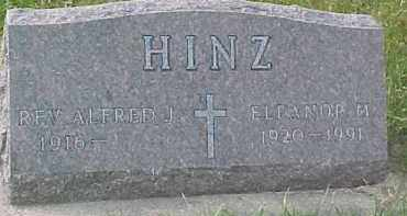 HINZ, ELEANOR M. - Dixon County, Nebraska | ELEANOR M. HINZ - Nebraska Gravestone Photos