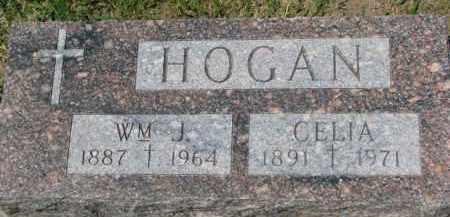 HOGAN, CELIA - Dixon County, Nebraska | CELIA HOGAN - Nebraska Gravestone Photos