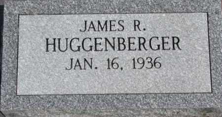 HUGGENBERGER, JAMES R. - Dixon County, Nebraska | JAMES R. HUGGENBERGER - Nebraska Gravestone Photos
