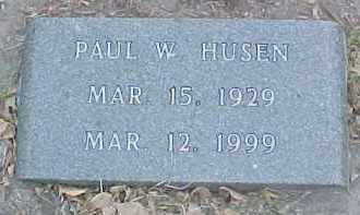 HUSEN, PAUL W. - Dixon County, Nebraska | PAUL W. HUSEN - Nebraska Gravestone Photos