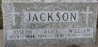 JACKSON, WILLIAM - Dixon County, Nebraska | WILLIAM JACKSON - Nebraska Gravestone Photos