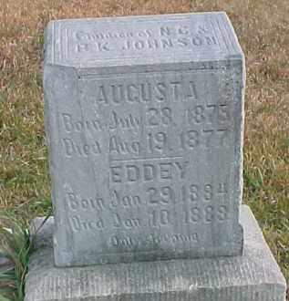 JOHNSON, EDDEY - Dixon County, Nebraska | EDDEY JOHNSON - Nebraska Gravestone Photos