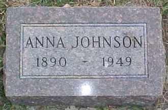 JOHNSON, ANNA - Dixon County, Nebraska   ANNA JOHNSON - Nebraska Gravestone Photos