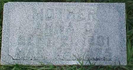 JOHNSON, ANNA CHRISTINA - Dixon County, Nebraska   ANNA CHRISTINA JOHNSON - Nebraska Gravestone Photos