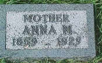JOHNSON, ANNA MARIE - Dixon County, Nebraska | ANNA MARIE JOHNSON - Nebraska Gravestone Photos