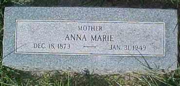 JOHNSON, ANNA MARIE - Dixon County, Nebraska   ANNA MARIE JOHNSON - Nebraska Gravestone Photos