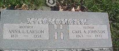 JOHNSON, CARL A. - Dixon County, Nebraska | CARL A. JOHNSON - Nebraska Gravestone Photos