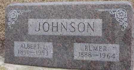JOHNSON, ALBERT L. - Dixon County, Nebraska | ALBERT L. JOHNSON - Nebraska Gravestone Photos