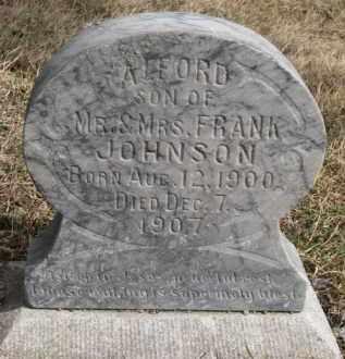 JOHNSON, ALFORD - Dixon County, Nebraska | ALFORD JOHNSON - Nebraska Gravestone Photos
