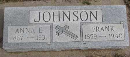 JOHNSON, ANNA E. - Dixon County, Nebraska | ANNA E. JOHNSON - Nebraska Gravestone Photos