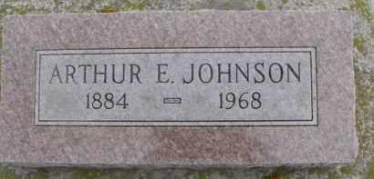 JOHNSON, ARTHUR E. - Dixon County, Nebraska   ARTHUR E. JOHNSON - Nebraska Gravestone Photos