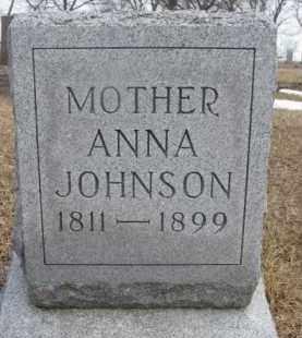 JOHNSON, ANNA - Dixon County, Nebraska | ANNA JOHNSON - Nebraska Gravestone Photos