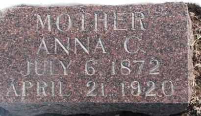 JOHNSON, ANNA C. - Dixon County, Nebraska | ANNA C. JOHNSON - Nebraska Gravestone Photos