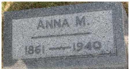 JOHNSON, ANNA M. - Dixon County, Nebraska | ANNA M. JOHNSON - Nebraska Gravestone Photos