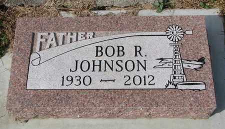 JOHNSON, BOB R. - Dixon County, Nebraska   BOB R. JOHNSON - Nebraska Gravestone Photos