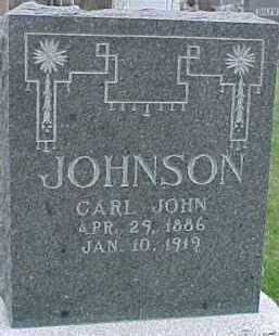 JOHNSON, CARL JOHN - Dixon County, Nebraska | CARL JOHN JOHNSON - Nebraska Gravestone Photos