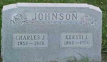 JOHNSON, KERSTI J. - Dixon County, Nebraska | KERSTI J. JOHNSON - Nebraska Gravestone Photos
