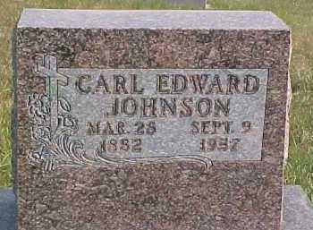 JOHNSON, CARL EDWARD - Dixon County, Nebraska | CARL EDWARD JOHNSON - Nebraska Gravestone Photos
