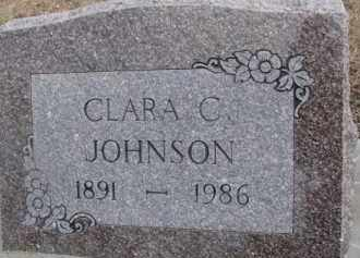 JOHNSON, CLARA C. - Dixon County, Nebraska   CLARA C. JOHNSON - Nebraska Gravestone Photos