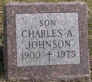 JOHNSON, CHARLES A. - Dixon County, Nebraska | CHARLES A. JOHNSON - Nebraska Gravestone Photos