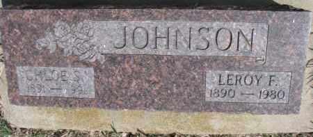JOHNSON, CHLOE S. - Dixon County, Nebraska | CHLOE S. JOHNSON - Nebraska Gravestone Photos
