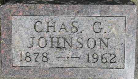 JOHNSON, CHAS G. - Dixon County, Nebraska | CHAS G. JOHNSON - Nebraska Gravestone Photos