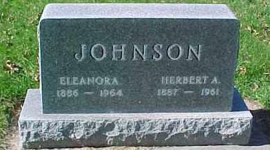 JOHNSON, ELEANORA - Dixon County, Nebraska | ELEANORA JOHNSON - Nebraska Gravestone Photos