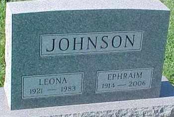 JOHNSON, EPHRAIM S. - Dixon County, Nebraska | EPHRAIM S. JOHNSON - Nebraska Gravestone Photos
