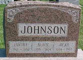 JOHNSON, DEAN - Dixon County, Nebraska | DEAN JOHNSON - Nebraska Gravestone Photos