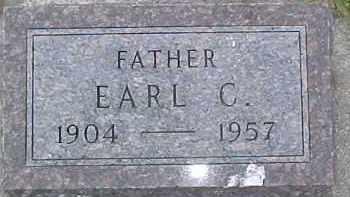 JOHNSON, EARL C. - Dixon County, Nebraska   EARL C. JOHNSON - Nebraska Gravestone Photos