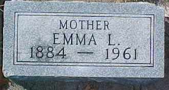 JOHNSON, EMMA L. - Dixon County, Nebraska | EMMA L. JOHNSON - Nebraska Gravestone Photos