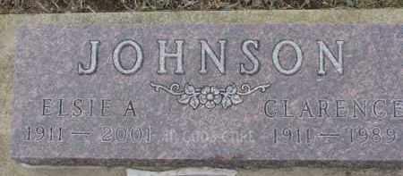 JOHNSON, ELSIE A. - Dixon County, Nebraska | ELSIE A. JOHNSON - Nebraska Gravestone Photos