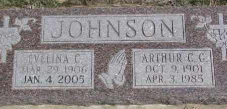 JOHNSON, EVELINA C. - Dixon County, Nebraska | EVELINA C. JOHNSON - Nebraska Gravestone Photos