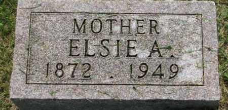 JOHNSON, ELSIE A. - Dixon County, Nebraska   ELSIE A. JOHNSON - Nebraska Gravestone Photos