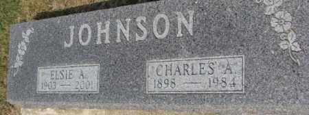 JOHNSON, CHARLES A. - Dixon County, Nebraska   CHARLES A. JOHNSON - Nebraska Gravestone Photos