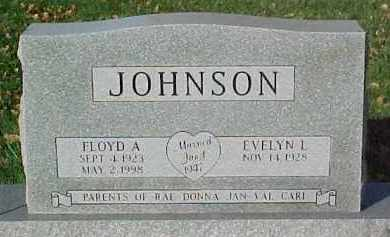 JOHNSON, FLOYD A. - Dixon County, Nebraska | FLOYD A. JOHNSON - Nebraska Gravestone Photos