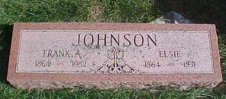 JOHNSON, FRANK A. - Dixon County, Nebraska | FRANK A. JOHNSON - Nebraska Gravestone Photos