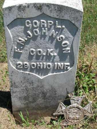 JOHNSON, F.N. - Dixon County, Nebraska   F.N. JOHNSON - Nebraska Gravestone Photos