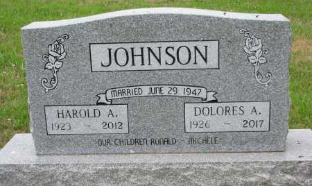 JOHNSON, DOLORES A. - Dixon County, Nebraska   DOLORES A. JOHNSON - Nebraska Gravestone Photos