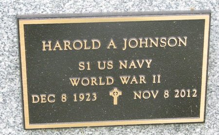JOHNSON, HAROLD A. (MILITARY) - Dixon County, Nebraska   HAROLD A. (MILITARY) JOHNSON - Nebraska Gravestone Photos