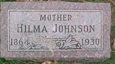 JOHNSON, HILMA - Dixon County, Nebraska | HILMA JOHNSON - Nebraska Gravestone Photos