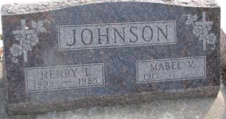 JOHNSON, MABEL V. - Dixon County, Nebraska | MABEL V. JOHNSON - Nebraska Gravestone Photos