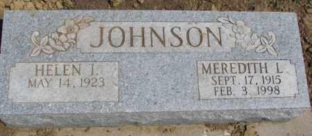 JOHNSON, MEREDITH L. - Dixon County, Nebraska   MEREDITH L. JOHNSON - Nebraska Gravestone Photos