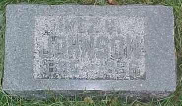 JOHNSON, INEZ U. - Dixon County, Nebraska   INEZ U. JOHNSON - Nebraska Gravestone Photos