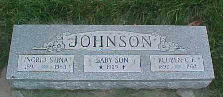 JOHNSON, REUBEN C.E. - Dixon County, Nebraska | REUBEN C.E. JOHNSON - Nebraska Gravestone Photos