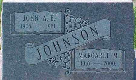 JOHNSON, MARGARET M. - Dixon County, Nebraska | MARGARET M. JOHNSON - Nebraska Gravestone Photos