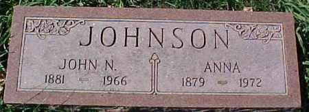 JOHNSON, JOHN N. - Dixon County, Nebraska | JOHN N. JOHNSON - Nebraska Gravestone Photos