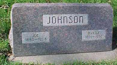 JOHNSON, JOE H.W. - Dixon County, Nebraska   JOE H.W. JOHNSON - Nebraska Gravestone Photos