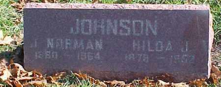 JOHNSON, HILDA J. - Dixon County, Nebraska | HILDA J. JOHNSON - Nebraska Gravestone Photos