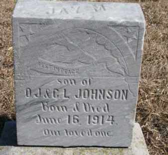 JOHNSON, JAY M. - Dixon County, Nebraska | JAY M. JOHNSON - Nebraska Gravestone Photos